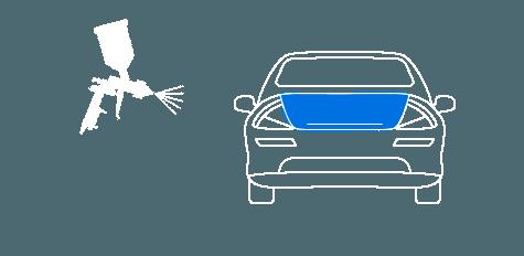 Покраска багажника