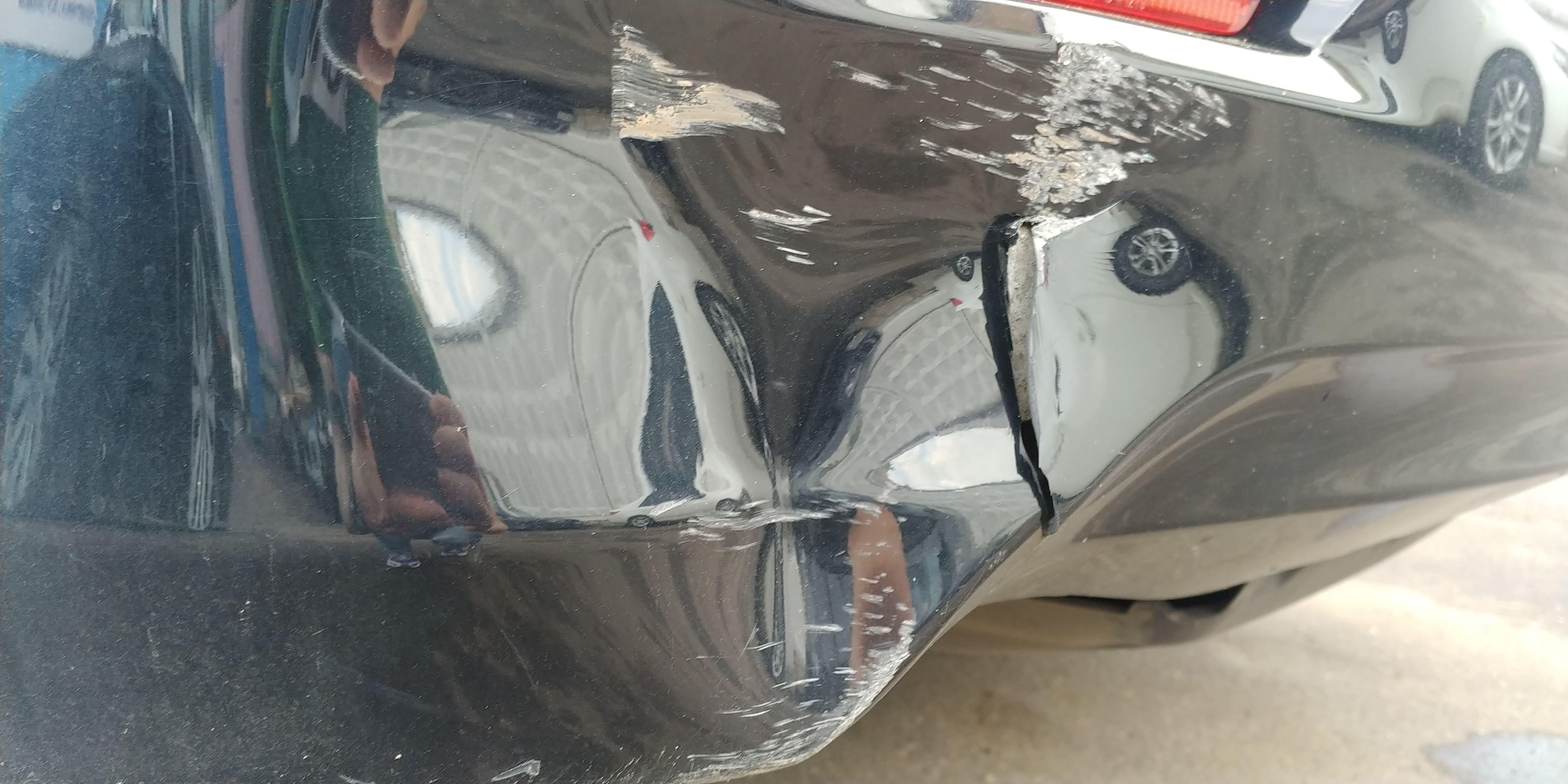 Ремонт и покраска бампера Toyota Camry
