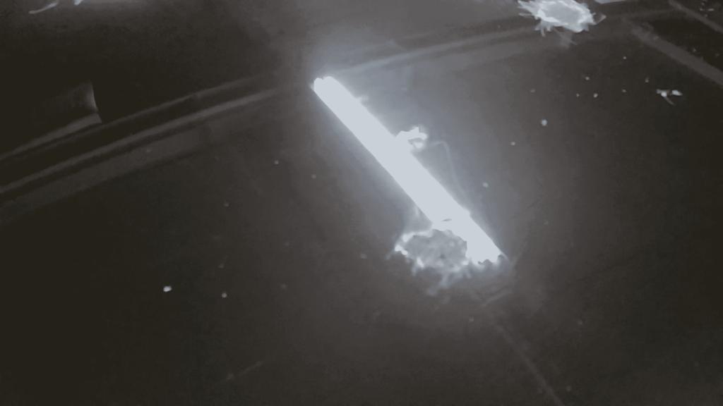 Покраска крыши: состояние до чистки