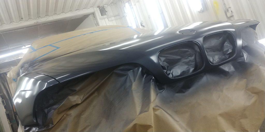 Покраска капота BMW E39