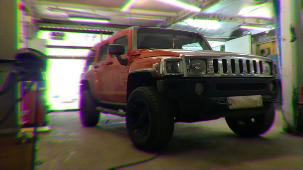 Полная покраска автомобиля Hummer H3