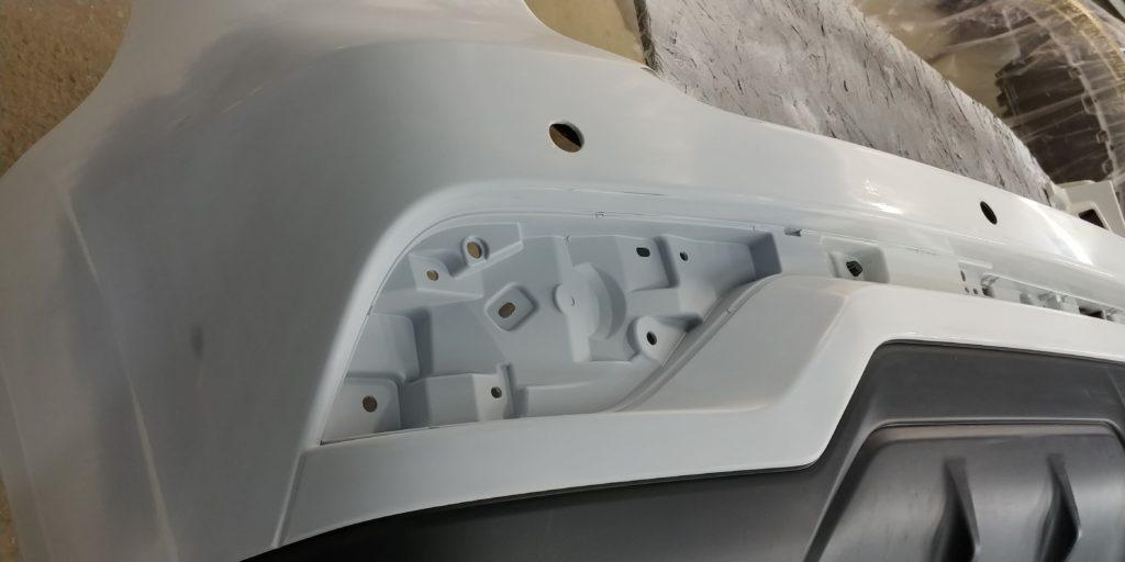 Ремонт бамперов из пластика: перед покраской